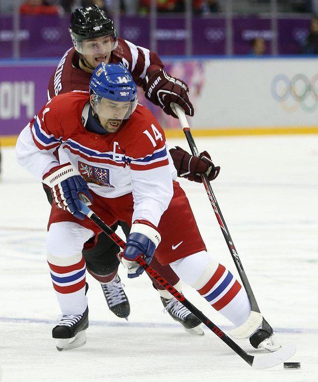 Czech Republic x Latvia 4:2 (Tomáš Plekanec - Olympic Games 2014)