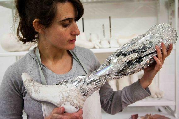 Dazzling prosthesis by Sophie de Oliveira Barata