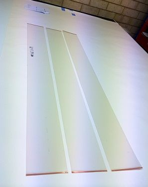 We've just laid up the Busbars on a triptych of long and narrow Switchglass™ panels - read more here:  http://switchglass.blogspot.com.au/2014/05/busbar-refresher.html