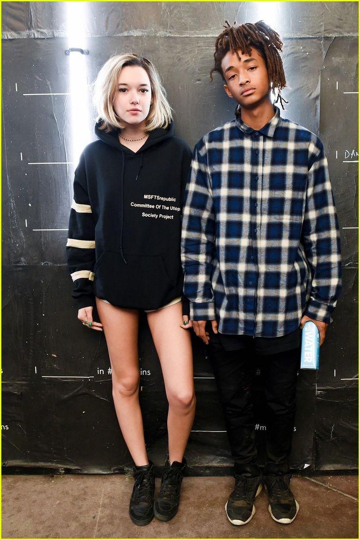 Jaden Smith & Girlfriend Sarah Snyder Party With Calvin Klein Coachella 2016…