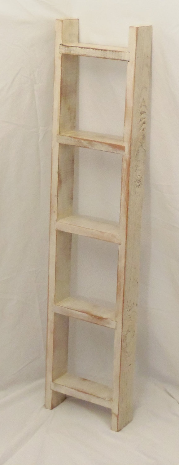 Best 25 wooden ladder shelf ideas on pinterest old for Old wooden ladder projects