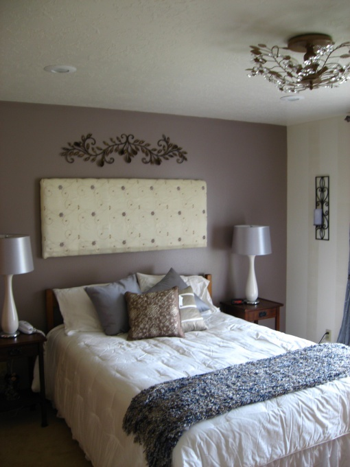 A Spa-Like Master Bedroom Color | HOME is where the HEART is