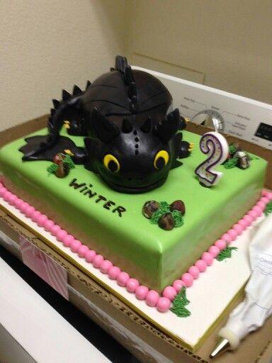 Toothless Cake Topper Australia