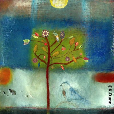 ... katherine dunn ... just bought her book on my way to my art retreat ... i am suddenly and inexplicably drawn to artists who use *waaaaaay* more colour than i do ... i sense a change is coming ...