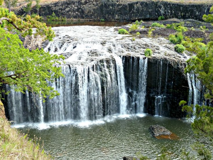 Millstream Falls is located in Australia. It is the widest waterfall in Australia. It looks really cool.