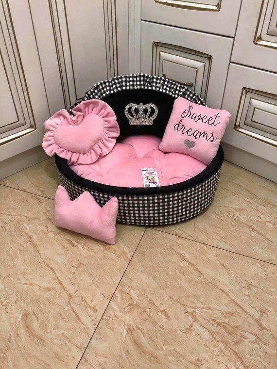 Cama para Perro Color Rosa Pet Brands