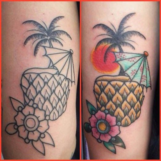 25 best cocktail drink tattoo images on pinterest tattoo ideas cocktails and tattoo old school. Black Bedroom Furniture Sets. Home Design Ideas