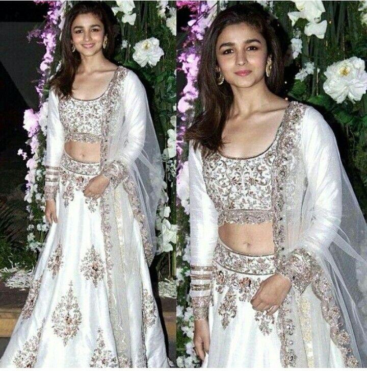White Lenhanga Bollywood ActressIndian ActressesWedding