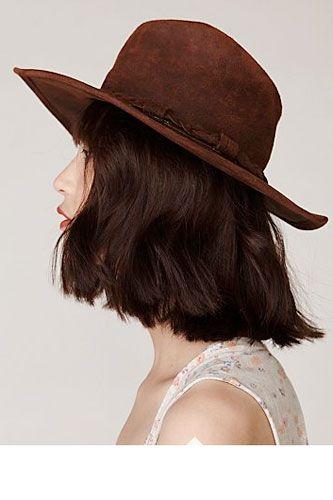chic winter hats and fun haircuts