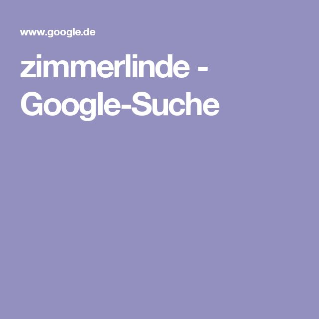 zimmerlinde - Google-Suche