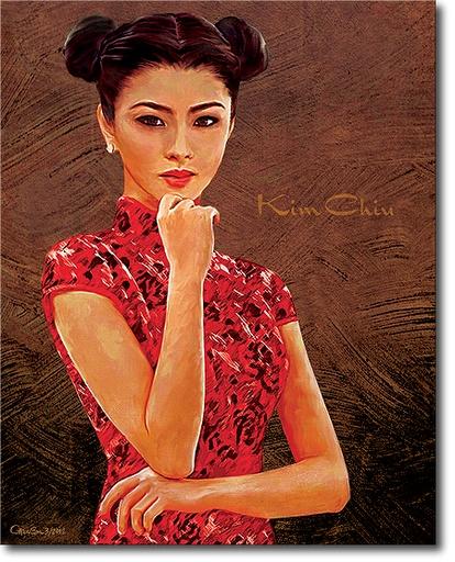 Kim Chiu as a Shanghai Girl.