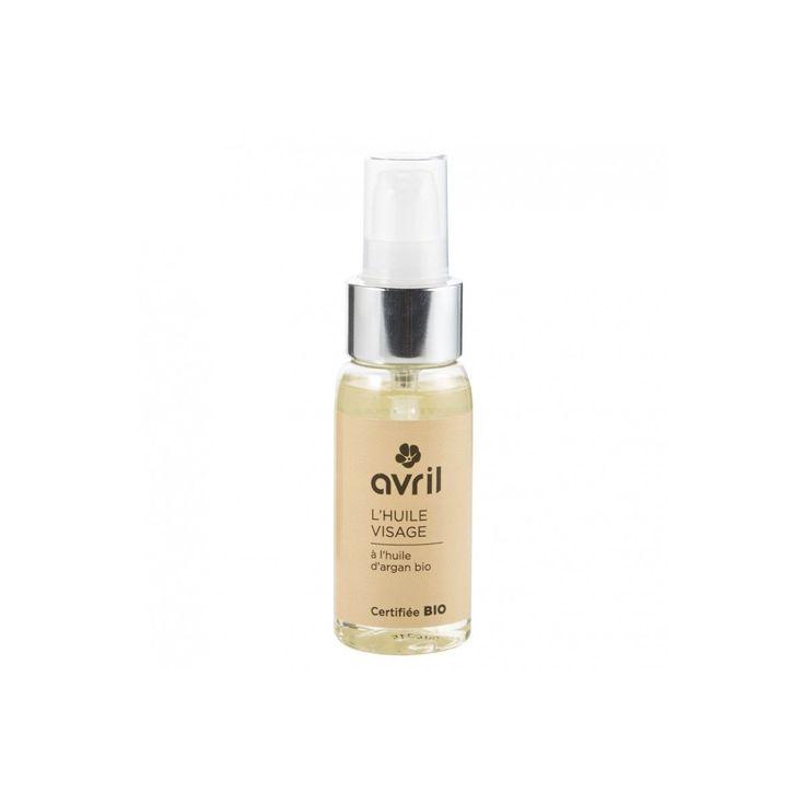 Pour une peau souple et repulpée, appliquez l'huile visage certifiée bio Avril chaque soir après le démaquillage. Elle contient de l'huile d'argan, de tournesol et d'olive bio, toutes trois reconnues pour leursvertus...