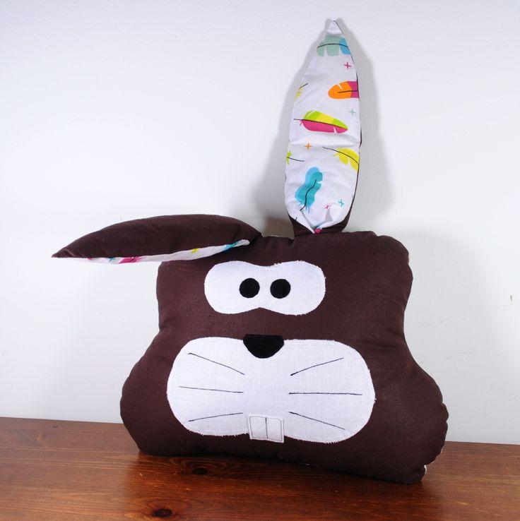 Poduszka królik zając pillow rabbit