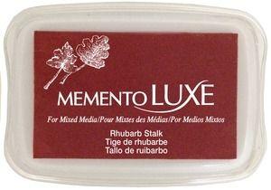 Memento Luxe RHUBARB STALK Ink Pad Tsukineko ML-301