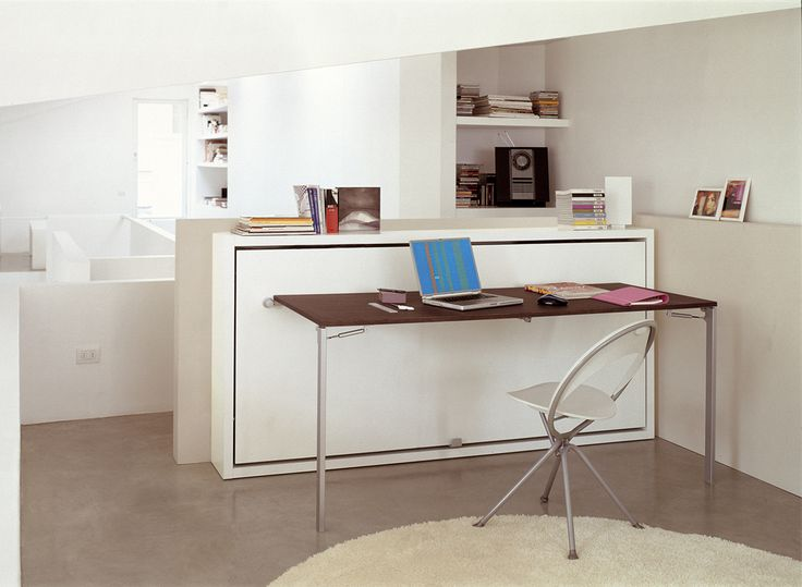 Save Furniture. Poppi Desk Wall Bed With Fold Up Desk. Space Saving  Furniturespace