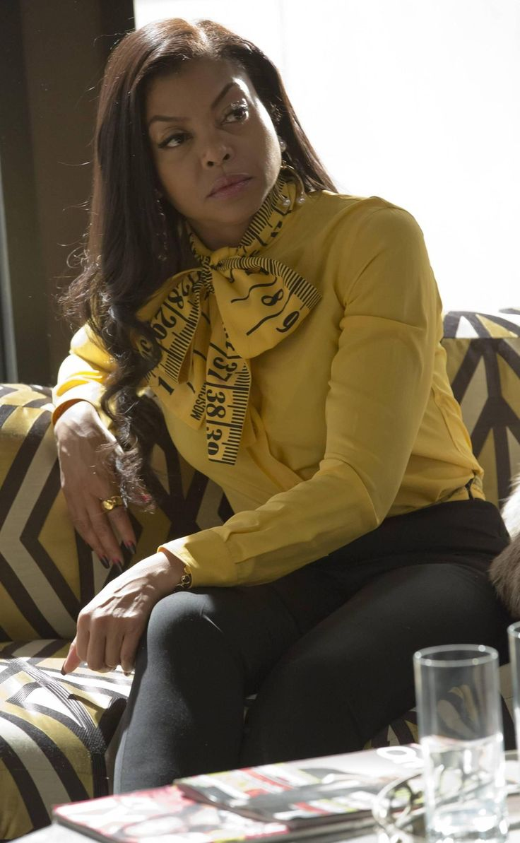 Moschino Long Sleeve Shirt as seen on Cookie Lyon in Empire | TheTake.com