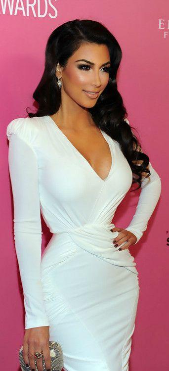 17 Best ideas about Kim Kardashian White Dress on Pinterest ...