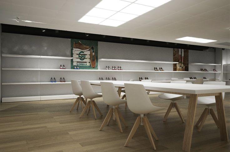 On Trade Agents   Showroom Yποδημάτων   Γλυκά Νερά   iidsk     Interior Design & Construction
