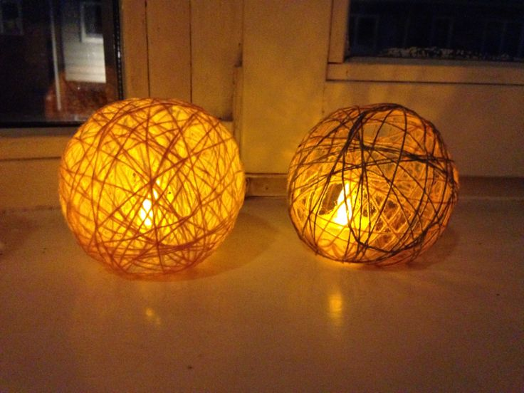 Homemade lamps