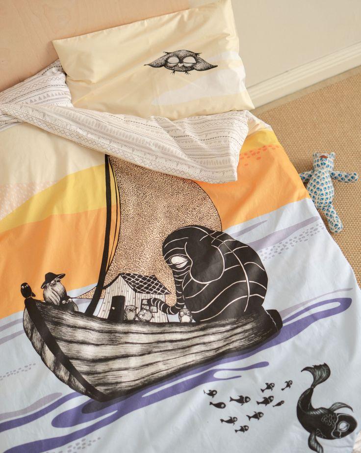 Mini Empire bedding The Boat for crib, 100x 125 cm