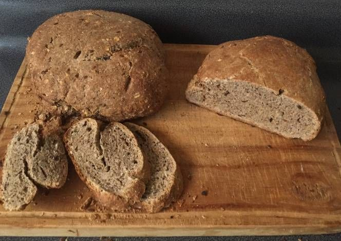 Pan integral con chia y linaza