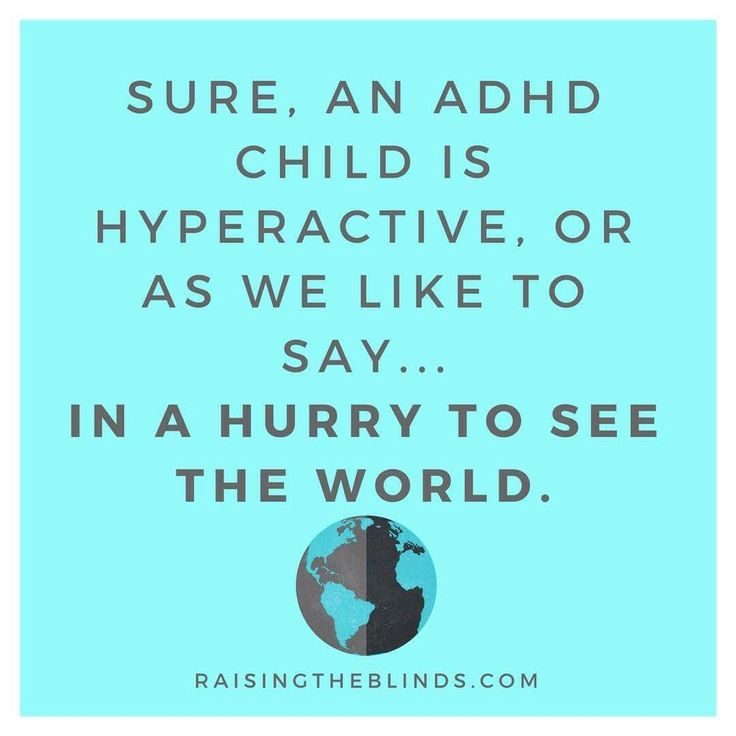 A different way to view your child with ADHD, from the ADHD parenting blog Raising the Blinds. Click for more tools and tips for a calmer home!