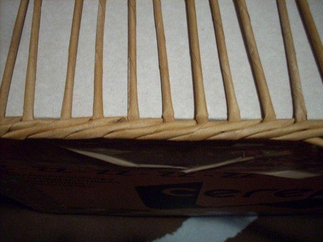Trenzado para ocultar el cartón de la base