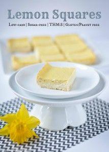 Reduced-Fat Lemon Squares Recipe — Dishmaps