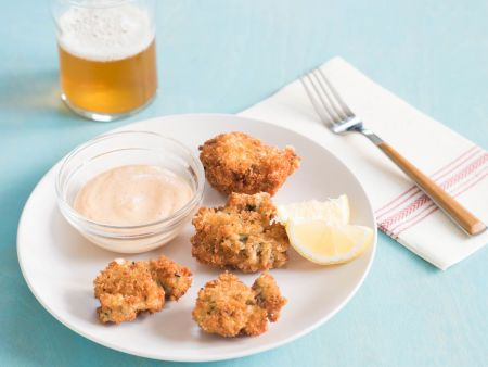 Panko Fried Oysters for Two