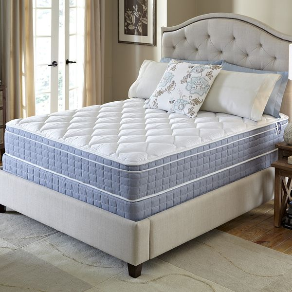 Beautiful King Size Bed Mattress With Tufted Headboard
