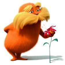 The Lorax Smelling The Flower