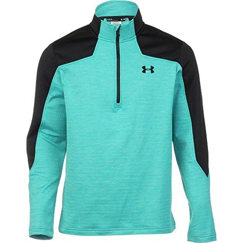 Under Armour Mens UA Garmut 14 Zip PacificBlack Small * Click image for more details.Note:It is affiliate link to Amazon.