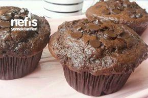 Bol Çikolatalı İçi Akışkan Muffin (Pastane Tadında) Tarifi