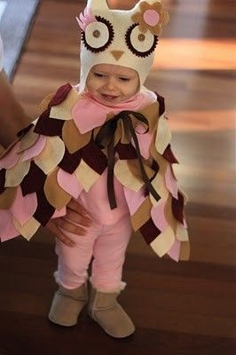 Owl Costume, Marissa's Costume, Super Adorable and Not to Hard to Make :))