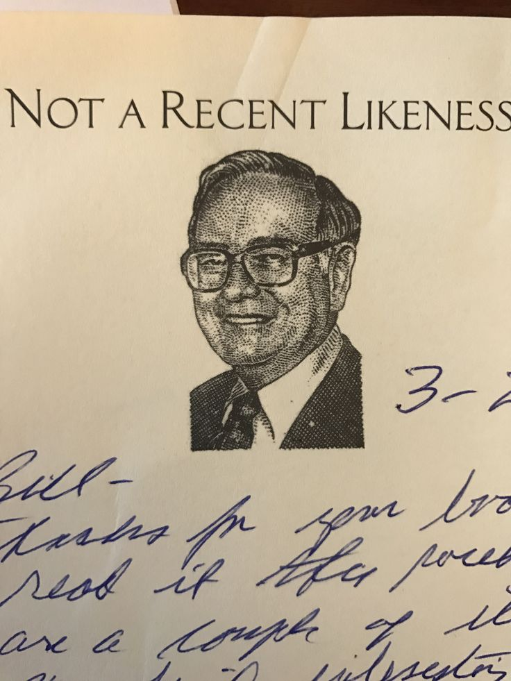I received a handwritten thank you from Mr. Buffett!!  Gracious and classy.