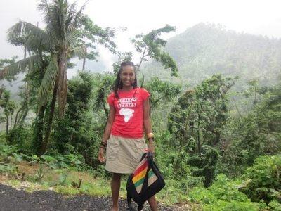 #Stolenfromafrica supporter representing in Jamaica!