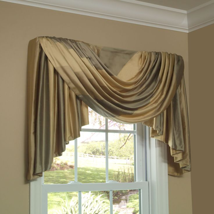 Swag Valances For Windows : Best images about cascades and jabots on pinterest