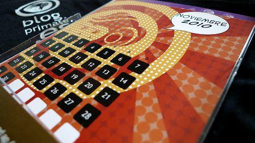 Calendario Primate by @zetxek, via Flickr. Este calendario 2010 fue el regalo de navidad de Primate para nuestros clientes y amigos