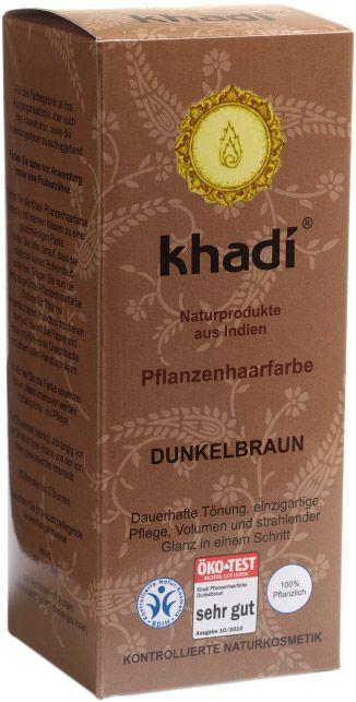 Khadi® Herbal Hair Colour - tinta  vegetale castano  scuro
