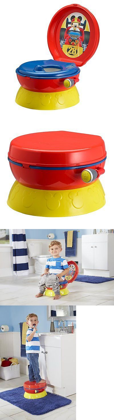 Potty Training 37631: Potty Training The First Years Disney Baby Mickey Mouse 3 In 1 Detachable Seat -> BUY IT NOW ONLY: $31.14 on eBay!