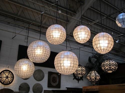 1000 images about capiz globe inspiration on pinterest. Black Bedroom Furniture Sets. Home Design Ideas