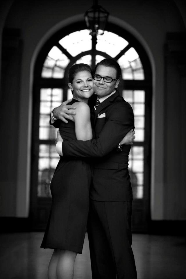 Crown Princess Victoria of Sweden and her husband Prince Daniel, Duke of Västergötland