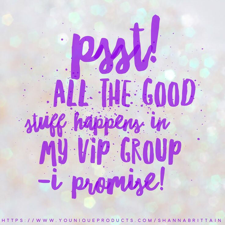 VIP Group  Younique by Shanna