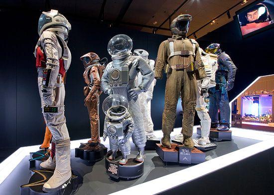 Where you Star trek enterprise space suit