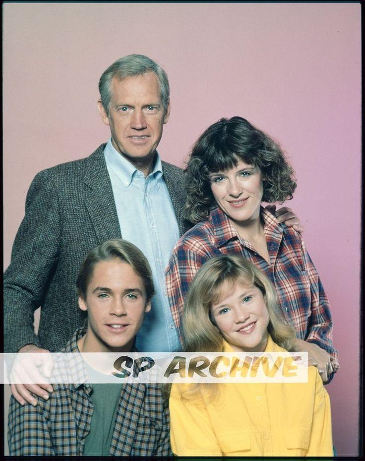 1985 4x5 Original Transparency SPENCER Chad Lowe - Ronny Cox - Mimi Kennedy