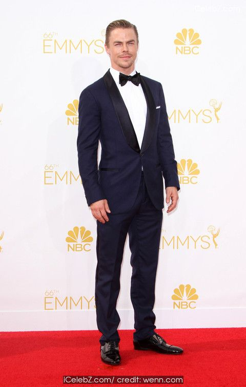 Derek Hough 66th Annual Primetime Emmy Awards at Nokia Theatre http://icelebz.com/events/66th_annual_primetime_emmy_awards_at_nokia_theatre/photo28.html
