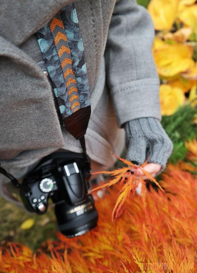 luzia pimpinella | DIY | handmade chevron camera strap