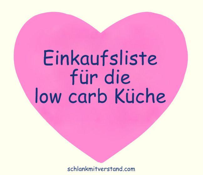 Einkaufsliste für die Low Carb Küche Gerade am Anfang einer low carb Ernährungsumstellung fällt es schwer, sich alle geeigneten Lebensmittel zu merken.Wer sich noch nicht sicher ist, was allesfü…