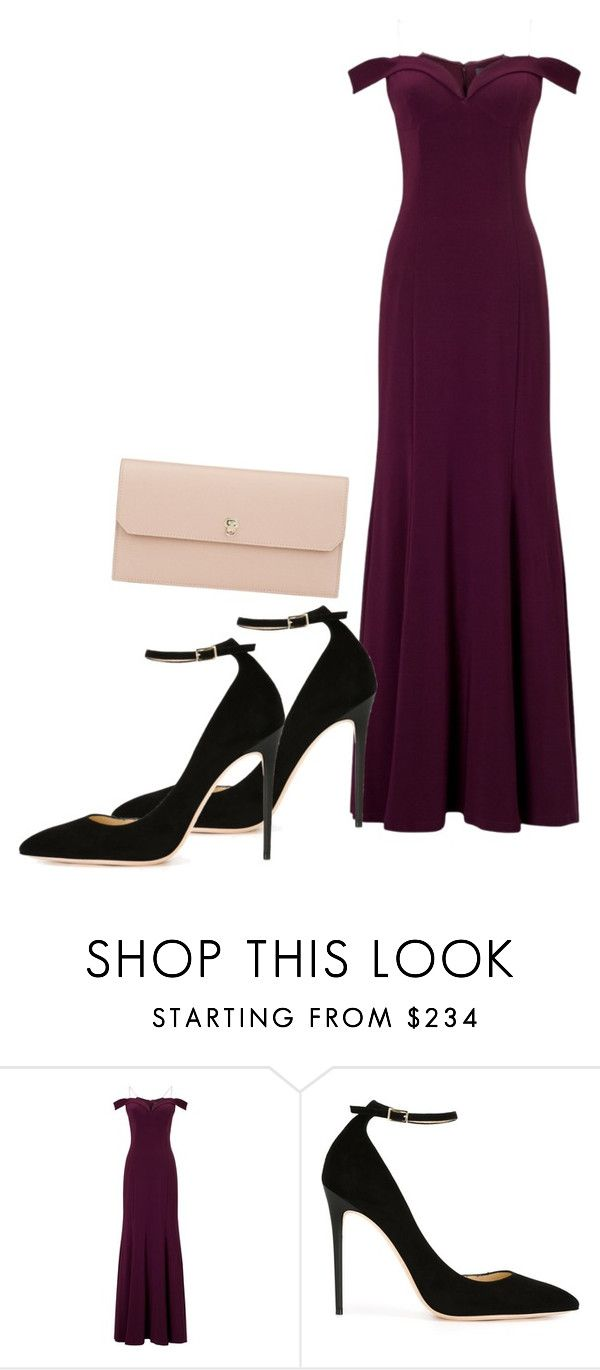 """Formal"" by grraciie-386 on Polyvore featuring beauty, Adrianna Papell, Jimmy Choo and Valextra"