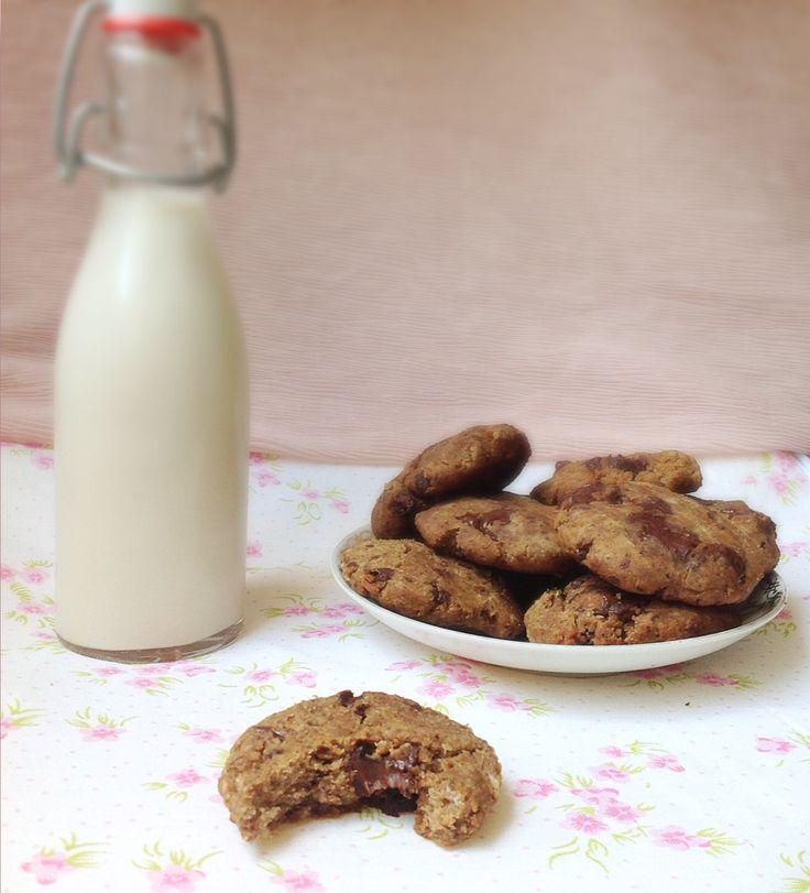 Lait de sarrasin et cookies à l'okara